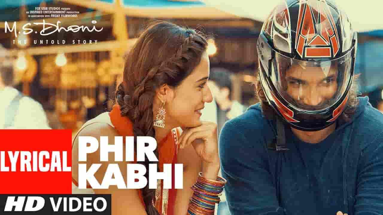 Tujhme Khoya Rahu Main Lyrics - Arijit Singh | MS Dhoni