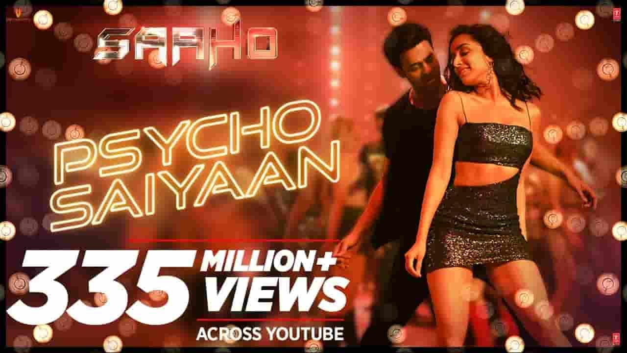 साइको सैयां Psycho Saiyaan Lyrics In Hindi – SAAHO