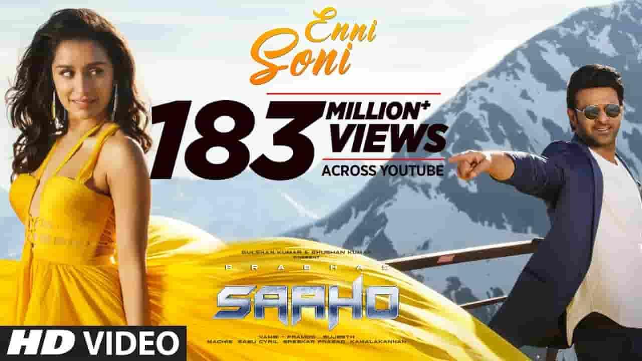 एन्नी सोणी Enni Soni Lyrics in Hindi - Saaho