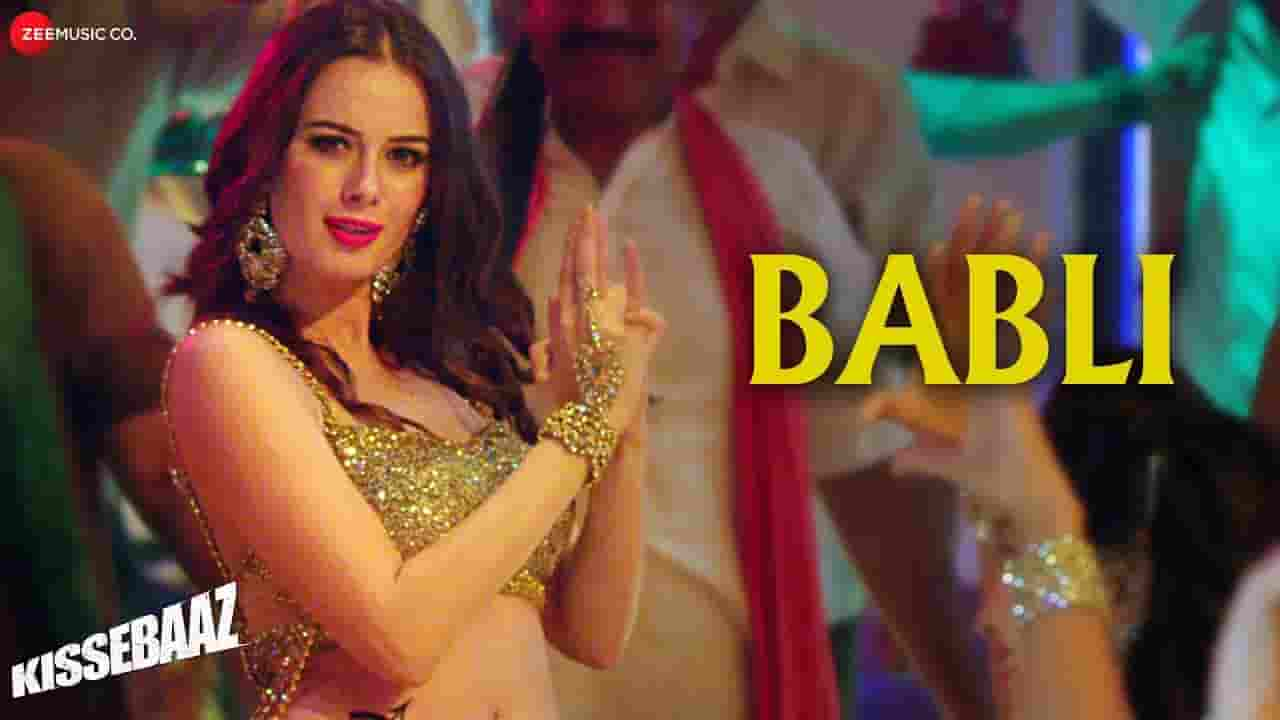 बबली Babli Song Lyrics In Hindi - Kissebaaz