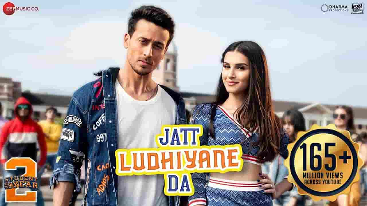 जट्ट लुधियाने दा Jatt Ludhiyane Da Lyrics In Hindi - Student Of The Year 2
