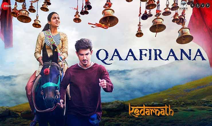काफ़िराना Qaafirana Lyrics In Hindi - Kedarnath | Arijit Singh