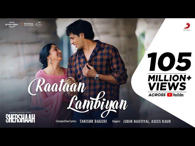 रातां लम्बियां Raataan Lambiyan Lyrics in Hindi