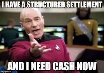 I have a structured settlement Lyrics