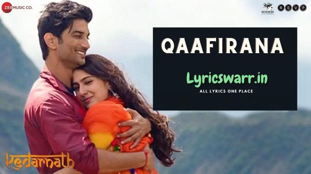 Qaafirana-song-lyrics