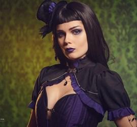 elisanth gothic victorian corset ensemble
