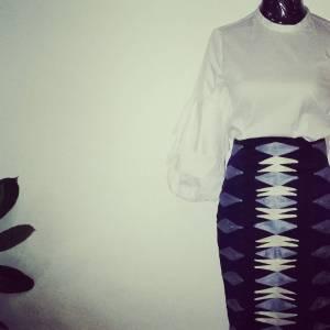 Voilà Apparel modern African print outfit