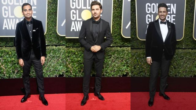 2018 Golden Globes black in solidarity against sexual assault and harassment