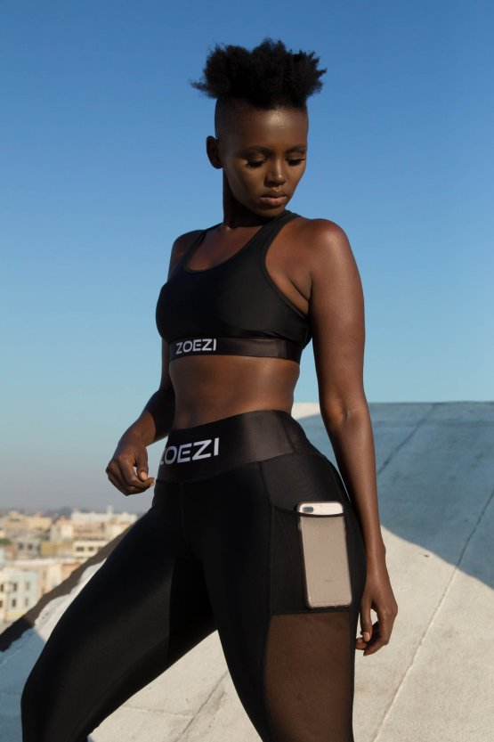 Makeup to the gym cute gym outfits lysa africa