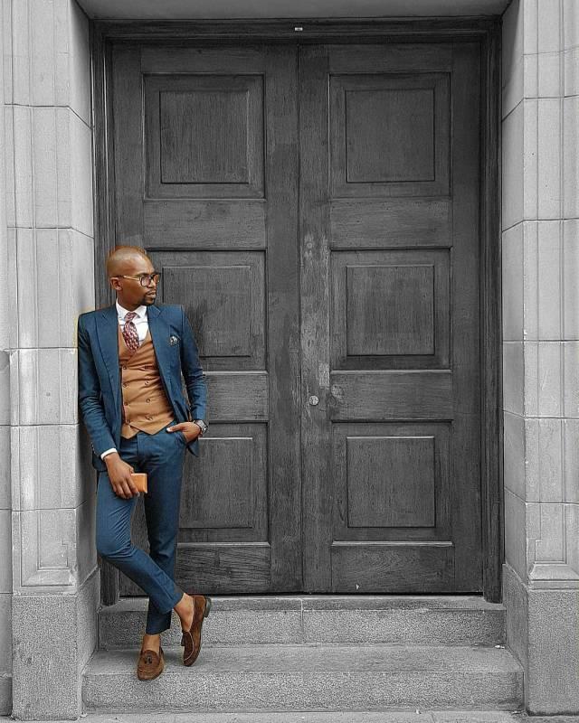 Male Fashion Suits Style Profile | Terence Moeketsi Khala Lysa Africa Magazine