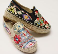 Spring Style Floral Espadrilles Florals For Spring Fresh Florals All Spring Long Lysa Africa Magazine