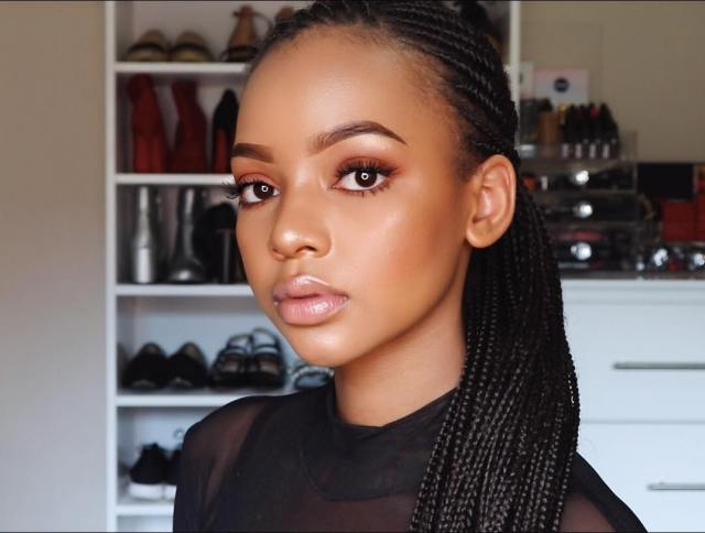 Top Beauty Tips From South African Beauty Influencer Vlogger YouTuber Makeup Artist Mihlali Ndamase Lysa Africa Magazine