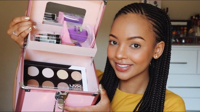 Top Beauty Tips From South African Beauty Influencer Vlogger YouTuber Makeup Artist Mihlali Ndamase Lysa Africa Magazine Beginners Makeup Kit