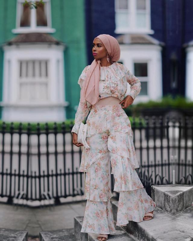 Eid Mubarak | Eid Beauty Inspiration Looks Lysa Africa Magazine Basma Kahie
