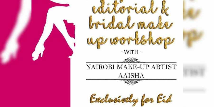 The Nairobi Makeup Artist Aaisha x Madora Eid Makeup Masterclass