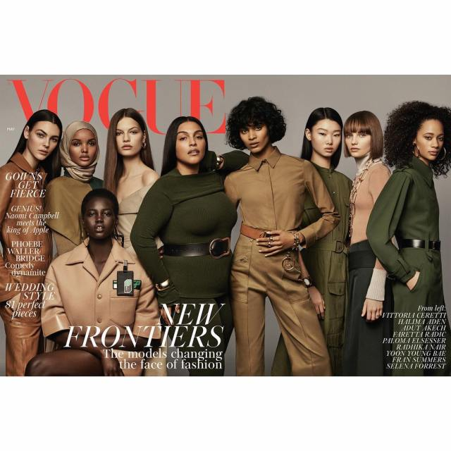 This Is Me And I'm Not Editing It For Your Benefit | Paloma Elsesser Plus Size Model Lysa Africa Magazine Vogue