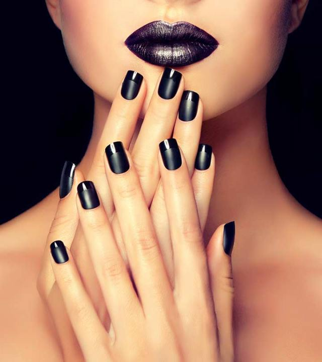 What Does Your Nail Polish Color Say About You? Lysa Magazine Black Nail Polish