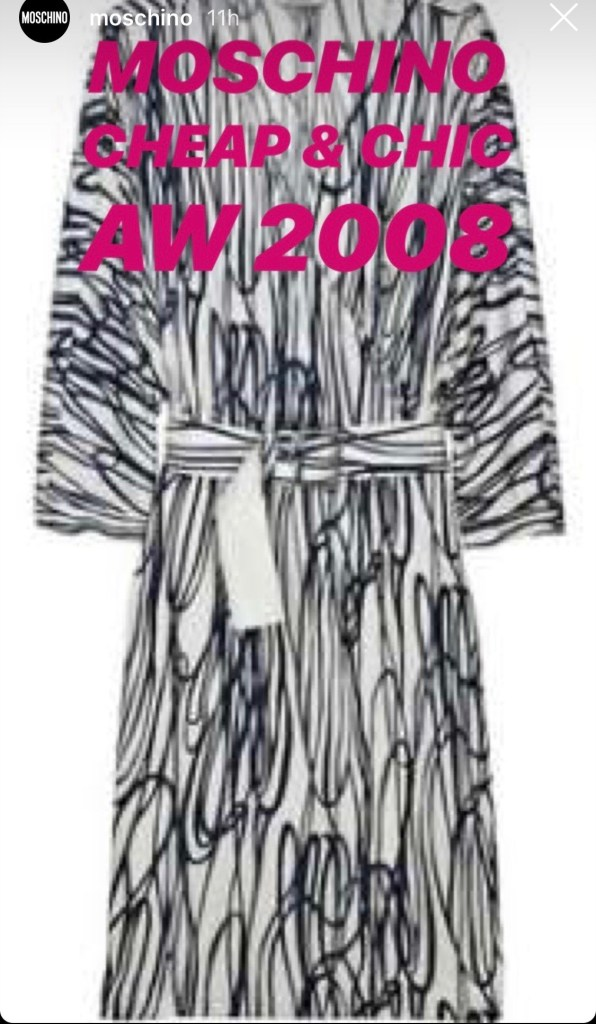 Moschino | Accused Yet Again Of Copying Artists' Work - Lysa Fashion | Lysa Magazine Edda Gimnes vs Jeremy Scott At Milan Fashion Week 2018