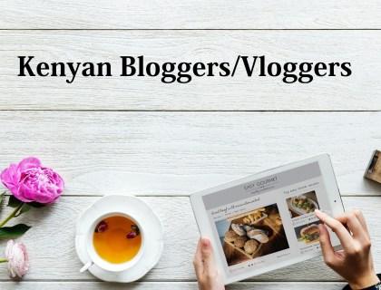 Kenyan Bloggers / Vloggers You Should Be Following - Lysa Magazine natalie tewa, jay take a pic, joanna kinuthia, wabosha maxine, sharon k mwangi, wanjiru boella