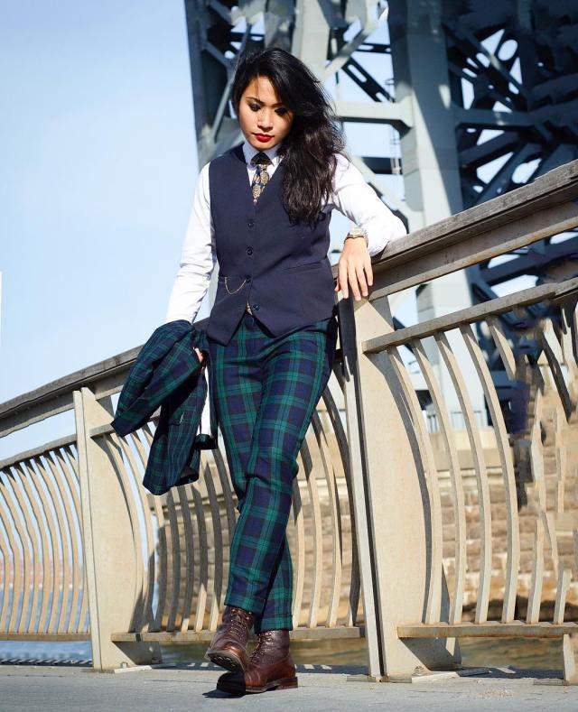 Woman In Men's Fashion | Cris La Garçonnière - Lysa Magazine Woman in suits woman in mens suits menswear mens fashion