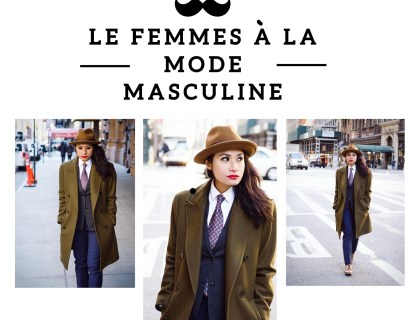 Woman In Men's Fashion | Cris La Garçonnière - Lysa Magazine Woman in suits woman in mens suits menswear mens fashion