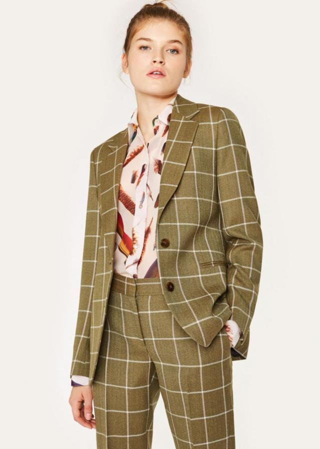 5 Blazers To Up Your Style Game - Lysa Magazine Womens Blazers Windowpane blazers