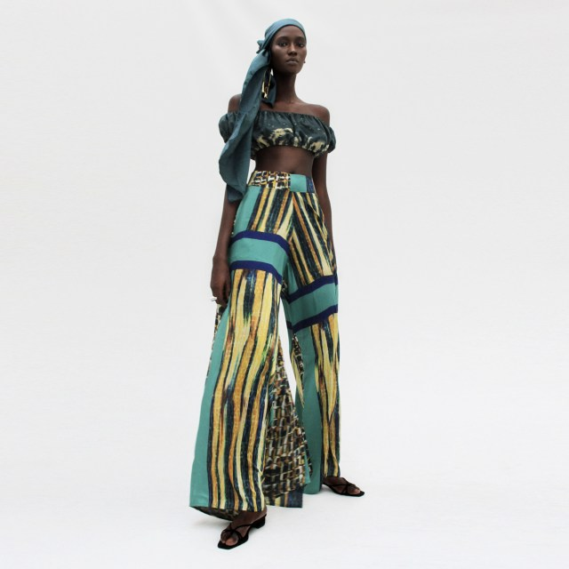 Style Picks This Holiday Season From Tongoro - Lysa Magazine Holiday Looks From Tongoro Studio Senegalese Brand Beyonce Wears Tongoro Beyonce wears Made In Africa Summer Wear wide leg pants palazzo