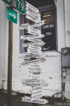 julian san diego county signpost