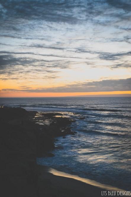 la jolla sunset cliffs san diego ocean