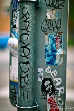 portland photos - street art - street sign - fine art photography - graffiti