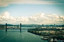 portland photos - portland pictures - portland images - willamette river - portland bridges - bridge photos