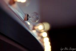 photo of light bulbs - shallow depth of field - bokeh - fine art photography
