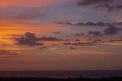 sunset photos - sunset pictures - sunset images - hawaii photos - clouds - ocean - paradise