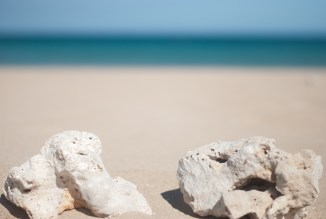 beach photography - photo of the ocean - fine art photography - rocks - white sand beach - hawaii