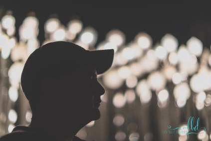 urban light - lacma - los angeles - bokeh - fine art photography