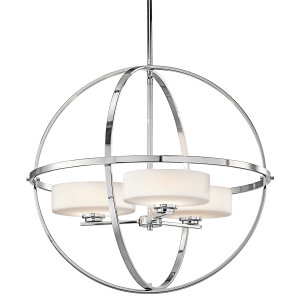 Olsay 3 Light Halogen Chandelier