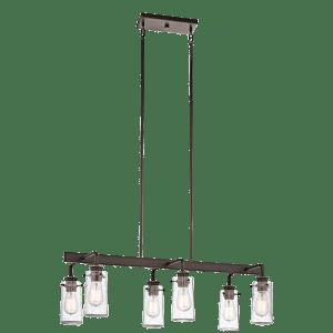Braelyn 6 Light Linear Chandelier