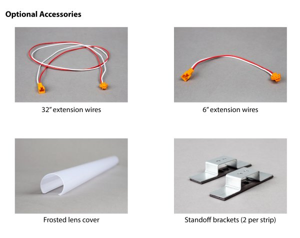 """6"""" Extension Wire for Magnetic StripLight Kit"""