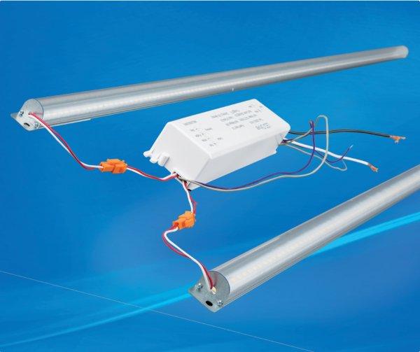 2 LED Magnetic Striplight Retrofit Kit Cool White  4' | 40W