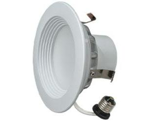 "6"" LED Downlight 18W Cool White High Lumens 6/PK"