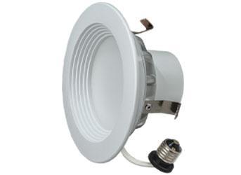 "6"" LED Downlight 18W Warm White High Lumens 6/PK"