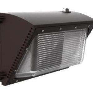 55W LED Wallpack W/Photocell 5000K