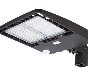 350W Slim Profile LED Area Lights Mounting Arm Included