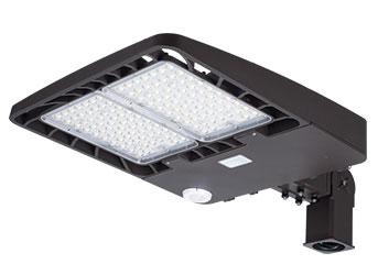 300W Slim Profile LED Area Lights | Mounting Arm Included