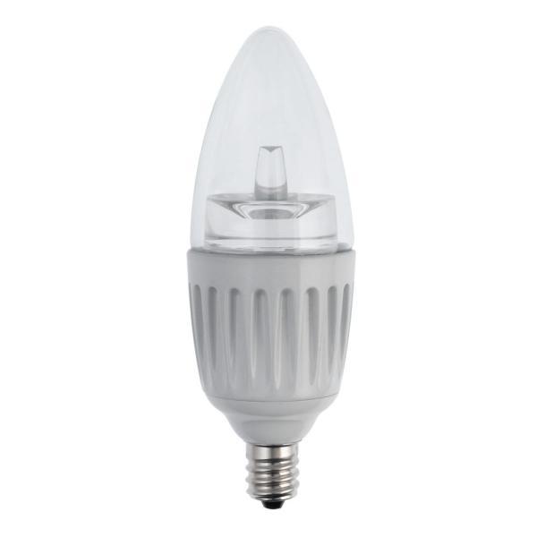 Soft White LED Chandelier Bulb