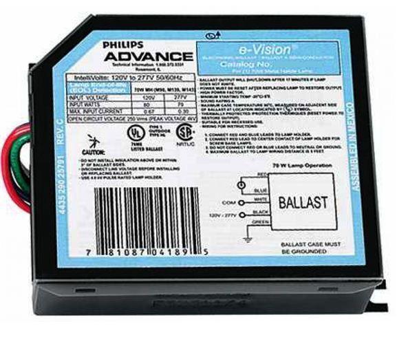 Advance IMH70DLF Metal Halide Ballast