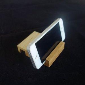 Ξύλινη βάση κινητού