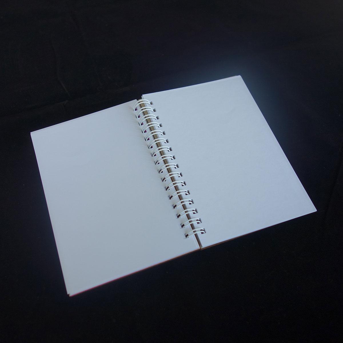Μπλοκ σημειώσεων με ξύλινο εξώφυλλο