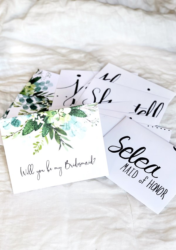 How I Asked: Bridesmaid Edition