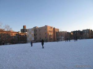 Football & Snow